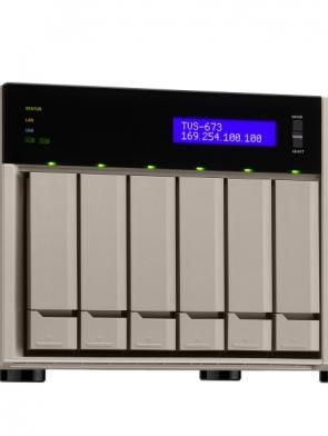 ذخیره ساز تحت شبکه QNAP TVS-673e 4G